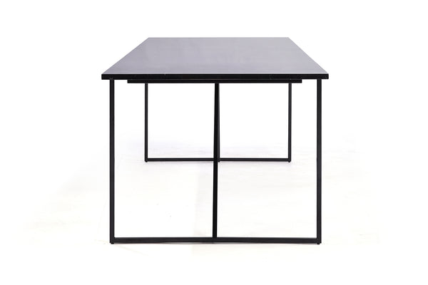 Black Marble Dinner Table - DT04