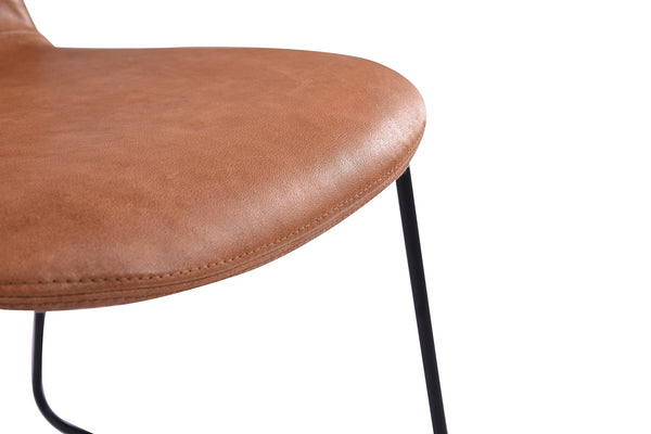 Leather Molded Chair - CH03