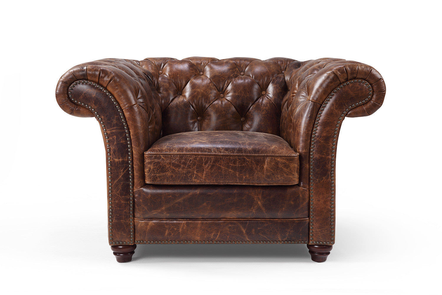 The Westminster Chesterfield Leather Chair | Rose and Moore