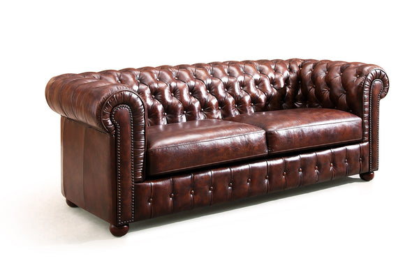 Chesterfield Sofa by Rose & Moore - profile view