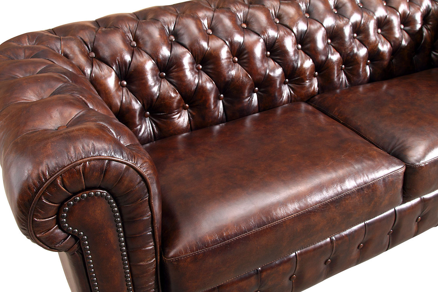 Chesterfield Sofa By Rose U0026 Moore   Detail View