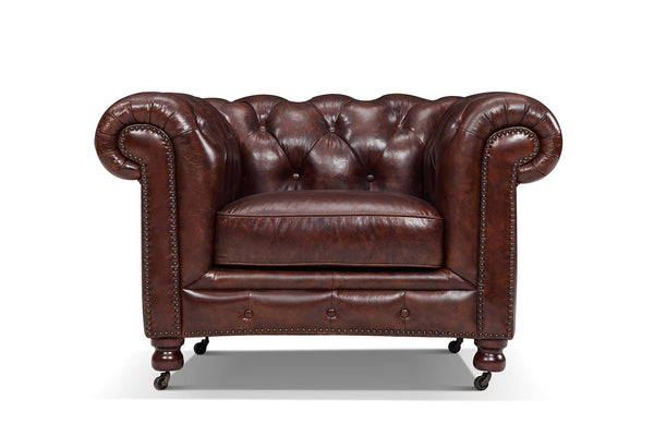 Kensington Chesterfield Tufted Chair RM-208