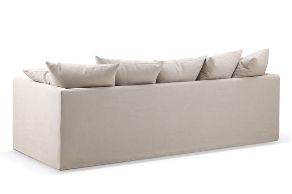 Back of the Montauk Fabric Track Arm Sofa