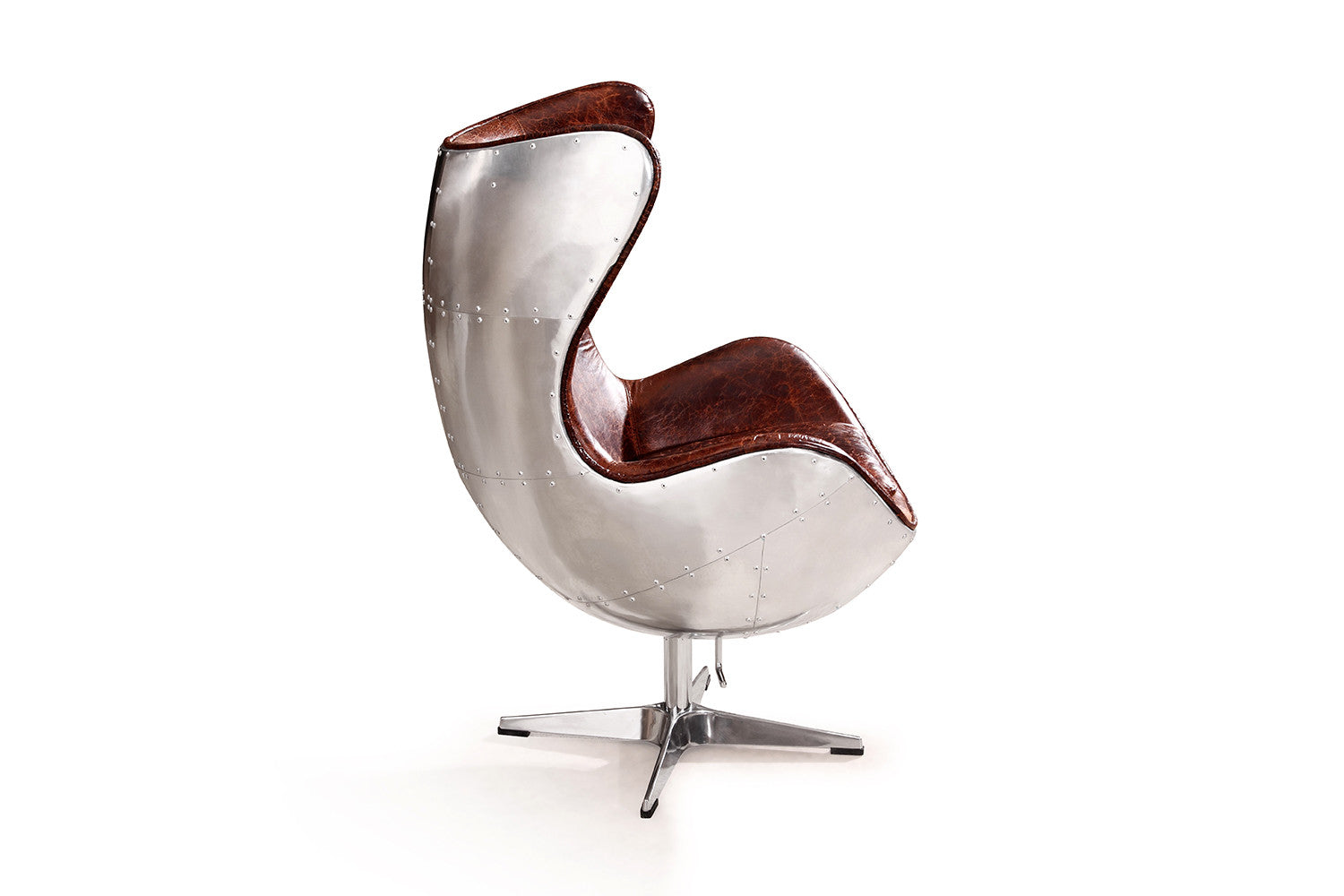 the aviator egg chair rose and moore. Black Bedroom Furniture Sets. Home Design Ideas