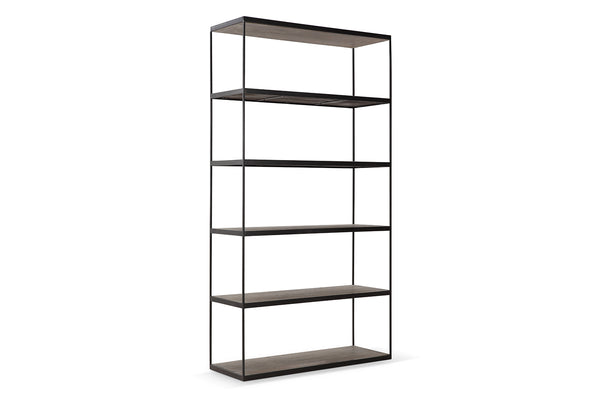 Industrial 6-Shelf Bookcase - SH01