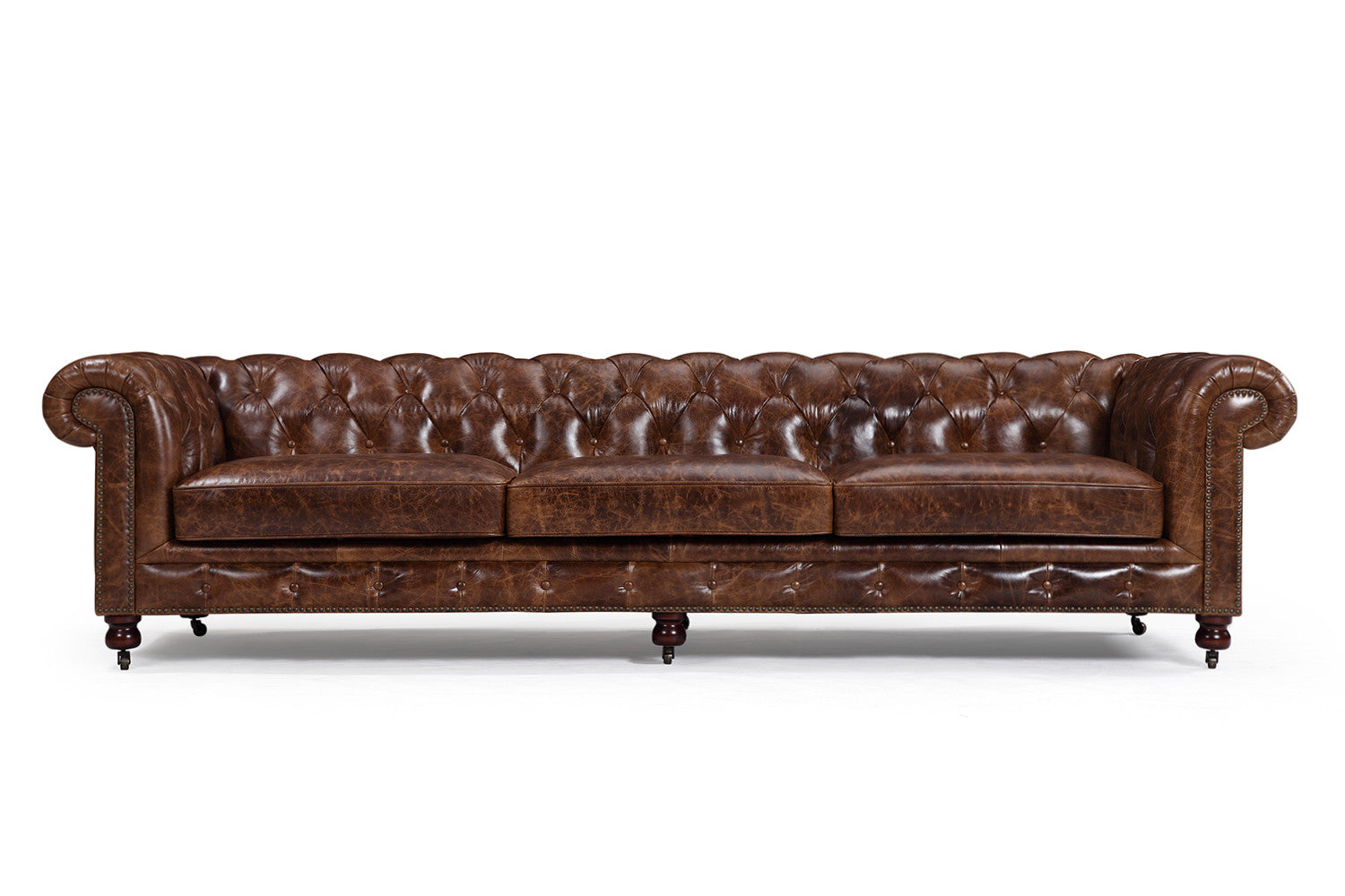 - The Kensington Large Chesterfield Sofa Rose And Moore