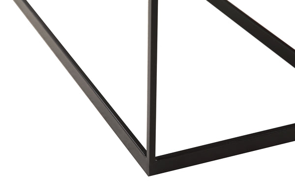 Metal and Wood Console Table - CE01