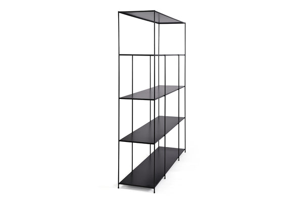 Black Modern Bookcase - SH04