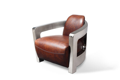 Odyssey Aviator Chair Rose & Moore profile view