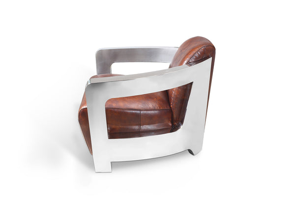 Odyssey Aviator Chair Rose & Moore side view