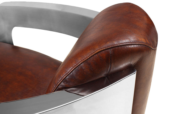 Odyssey Aviator Chair Rose & Moore detail view