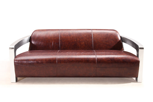Odyssey Aviator Sofa Rose & Moore front view