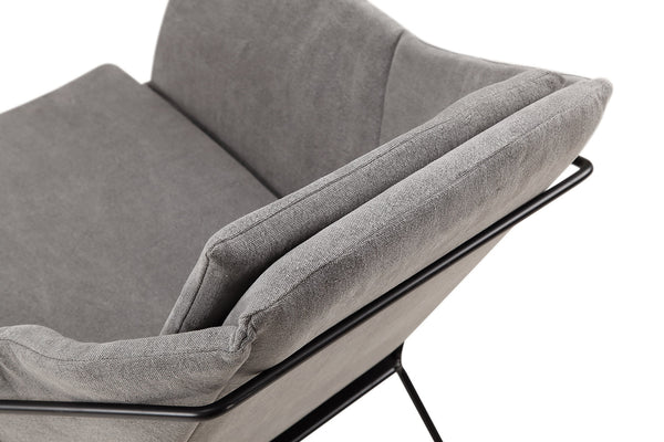Scoop-arm style Stockholm Accent Chair