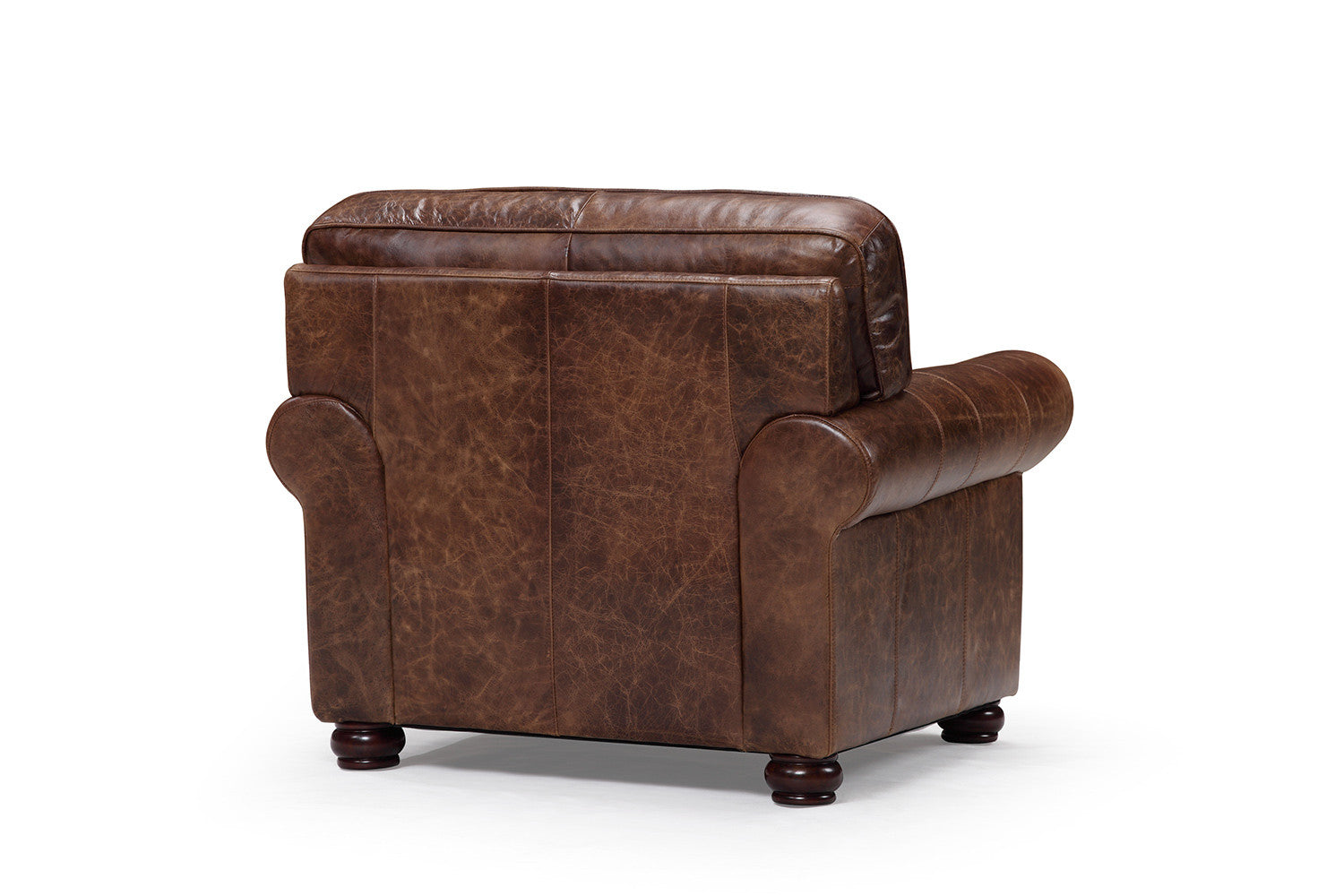 Traditional armchair - Back Of The Montrose Traditional Chair