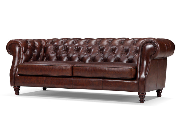 Chelsea Chesterfield Leather Sofa