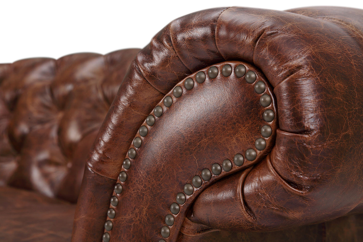 52fa98a330a5 The Westminster Chesterfield Leather Loveseat