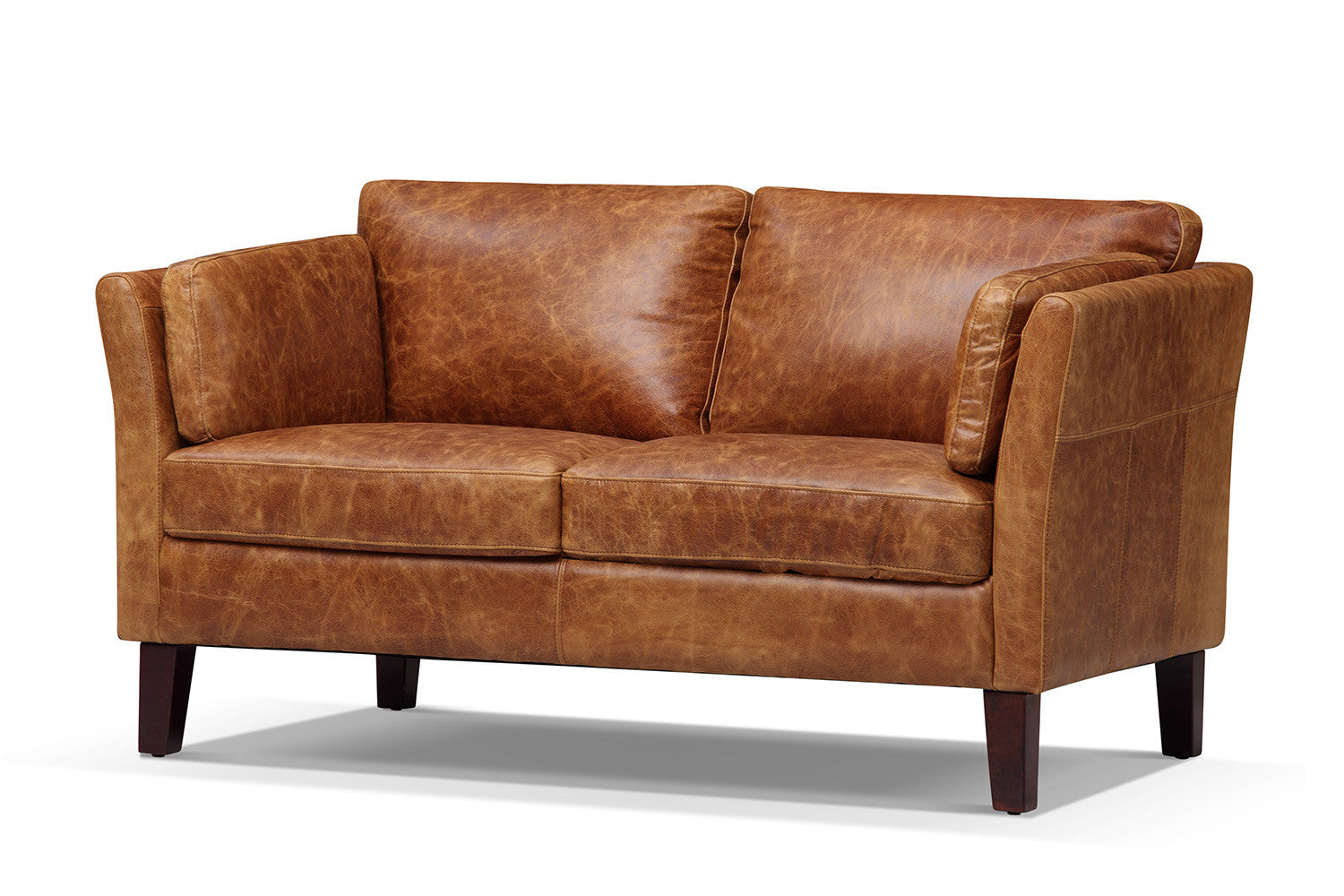 The Vintage 1960 Scandinavian Leather Loveseat Rose And Moore ~ Sofa And Loveseat Leather