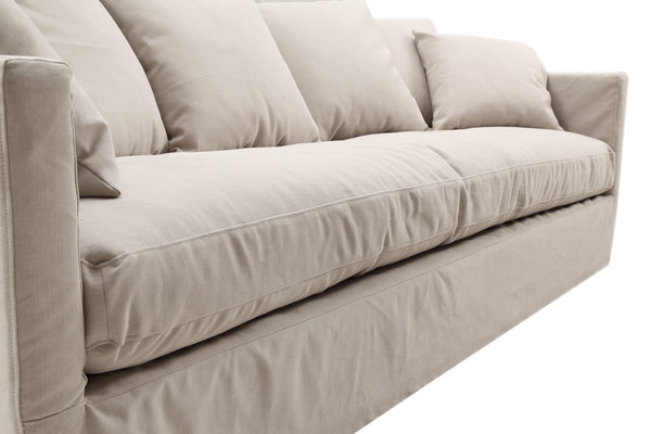 Seat cushion on the Montauk Fabric Track Arm Sofa
