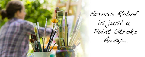 Ease Stress with Paint by Numbers Kit