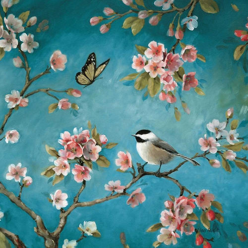 Chickadee & Butterfly Paint by Numbers
