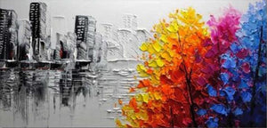 Abstract Art Painting by Numbers