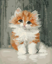 Load image into Gallery viewer, Adorable Cat Paint by Numbers