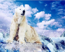 Load image into Gallery viewer, Polar Bear Paint by Numbers