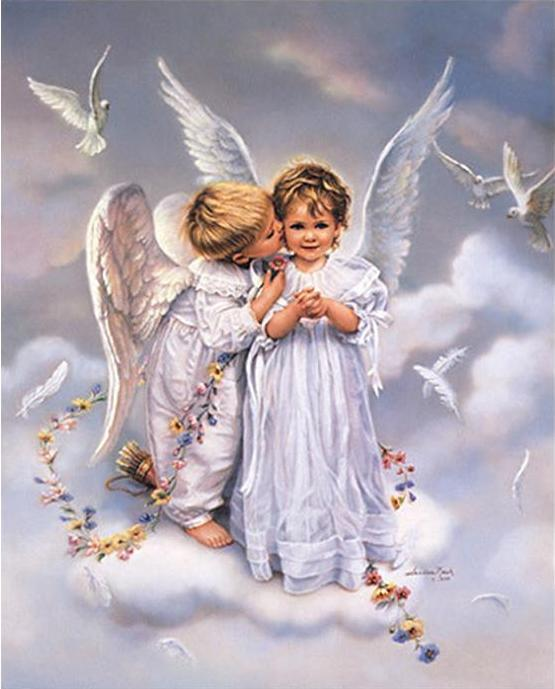 Angel Kids Paint by Numbers
