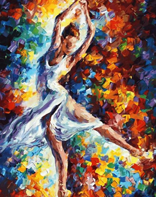 Ballet Girl Paint by Numbers