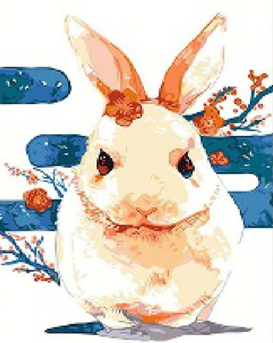 Rabbit DIY Painting Kit