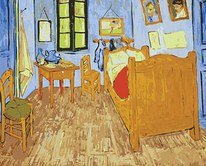 Bedroom in Arles Paint by Numbers