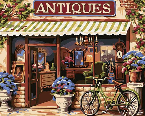 Antiques Shop Paint by Numbers