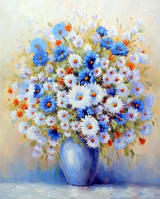 Daisies Paint by Numbers