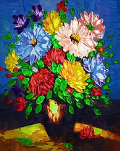 Load image into Gallery viewer, Bright Flowers Paint by Numbers