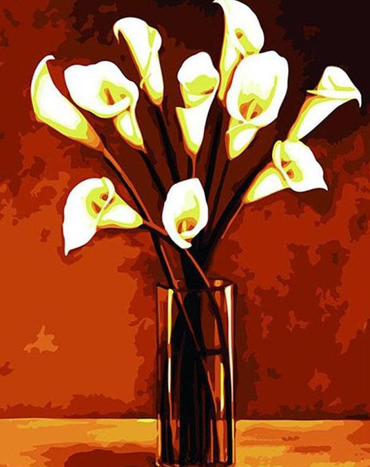 Calla Lilies Paint by Numbers