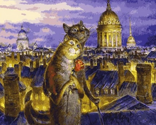 Load image into Gallery viewer, Cats in Love Paint by Numbers