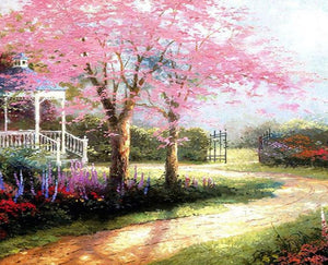 Spring Garden Painting by Numbers