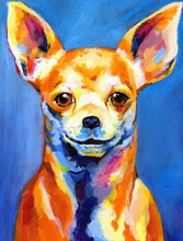 Load image into Gallery viewer, Chihuahua DIY Painting Kit
