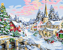 Load image into Gallery viewer, Christmas Season DIY Painting Kit