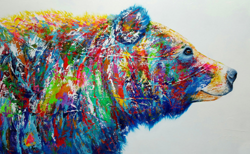 Bear Paint by Numbers