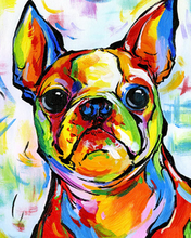 Load image into Gallery viewer, Bull Dog Paint by Numbers