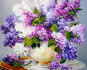 Butterfly Bush Paint by Numbers