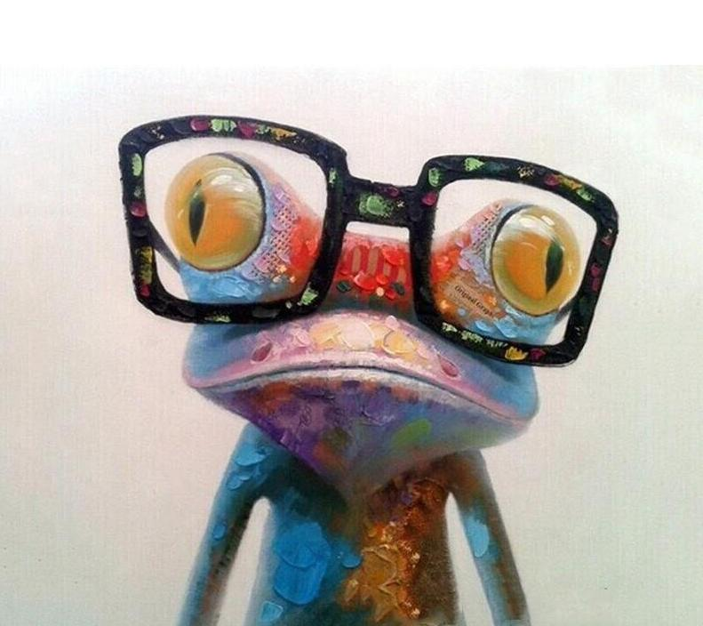 Frog Paint by Numbers
