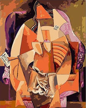 Load image into Gallery viewer, Cubism Painting Paint by Numbers
