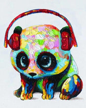 Load image into Gallery viewer, Cute Panda Paint by Numbers