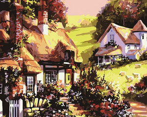 Fairy Cottage Paint by Numbers