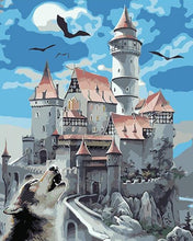 Load image into Gallery viewer, Fairy tale Castle Paint by Numbers