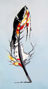 Feather Art Paint by Numbers