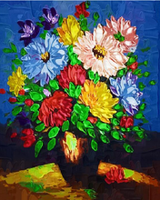 Load image into Gallery viewer, Flowers Paint by Numbers Kit