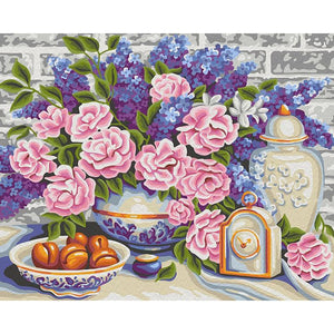Gorgeous Garden Roses Painting Kit